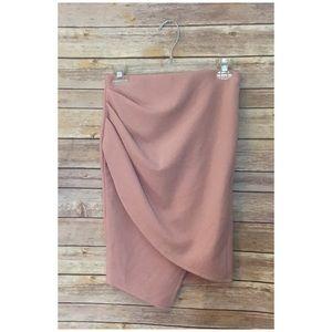 Windsor Blush Tulip Hem Skirt. Size M.